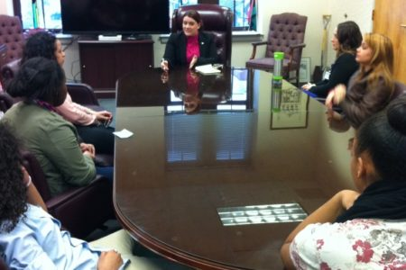 Healthy Tomorrow Teens meet with New Britain's mayor to seek support for re-opening local swimming pools