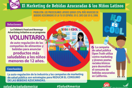 Sugary Drink Marketing Latino Kids Spanish