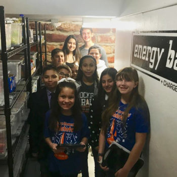 School Food Pantry in McAllen led by teens at Lamar Academy