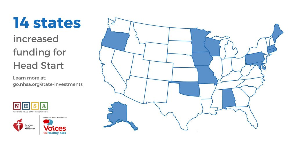 Only 14 States Invest in Head Start