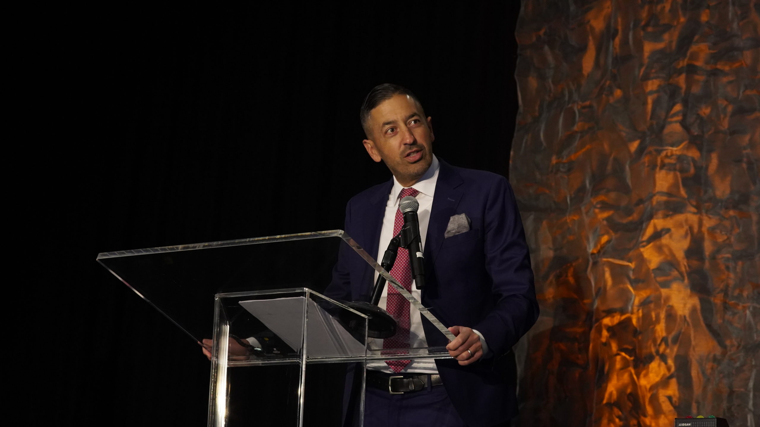 Sandro Galea at the Advancing the Science of Cancer in Latinos conference 2020