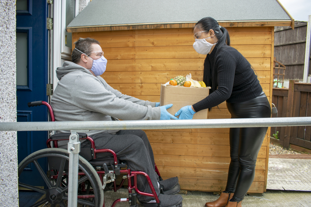 People with disabilities affected by COVID